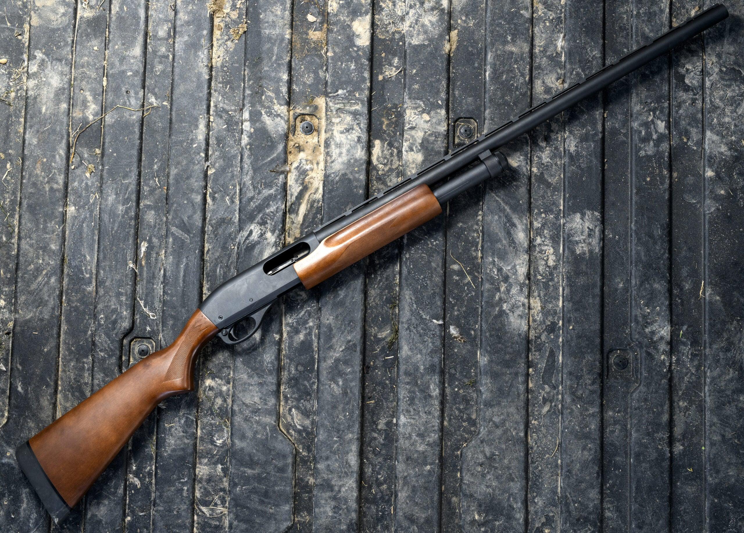 Remington 870 Express is the best duck hunting shotgun.