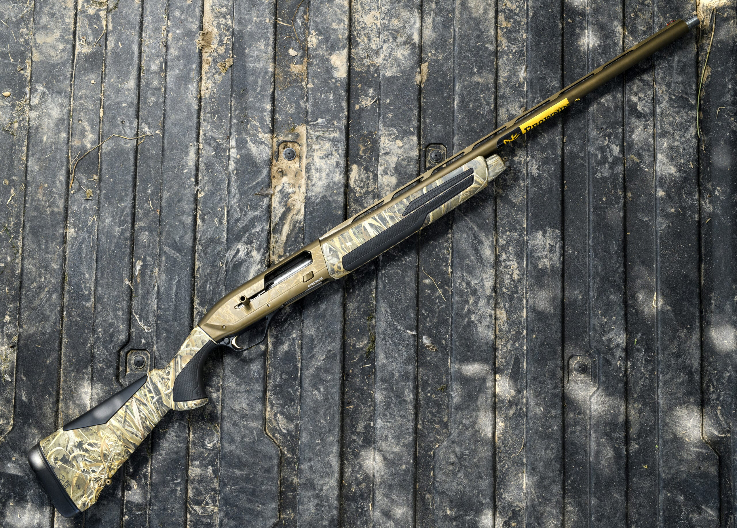 The Browning Maxus II is the best duck hunting shotgun.