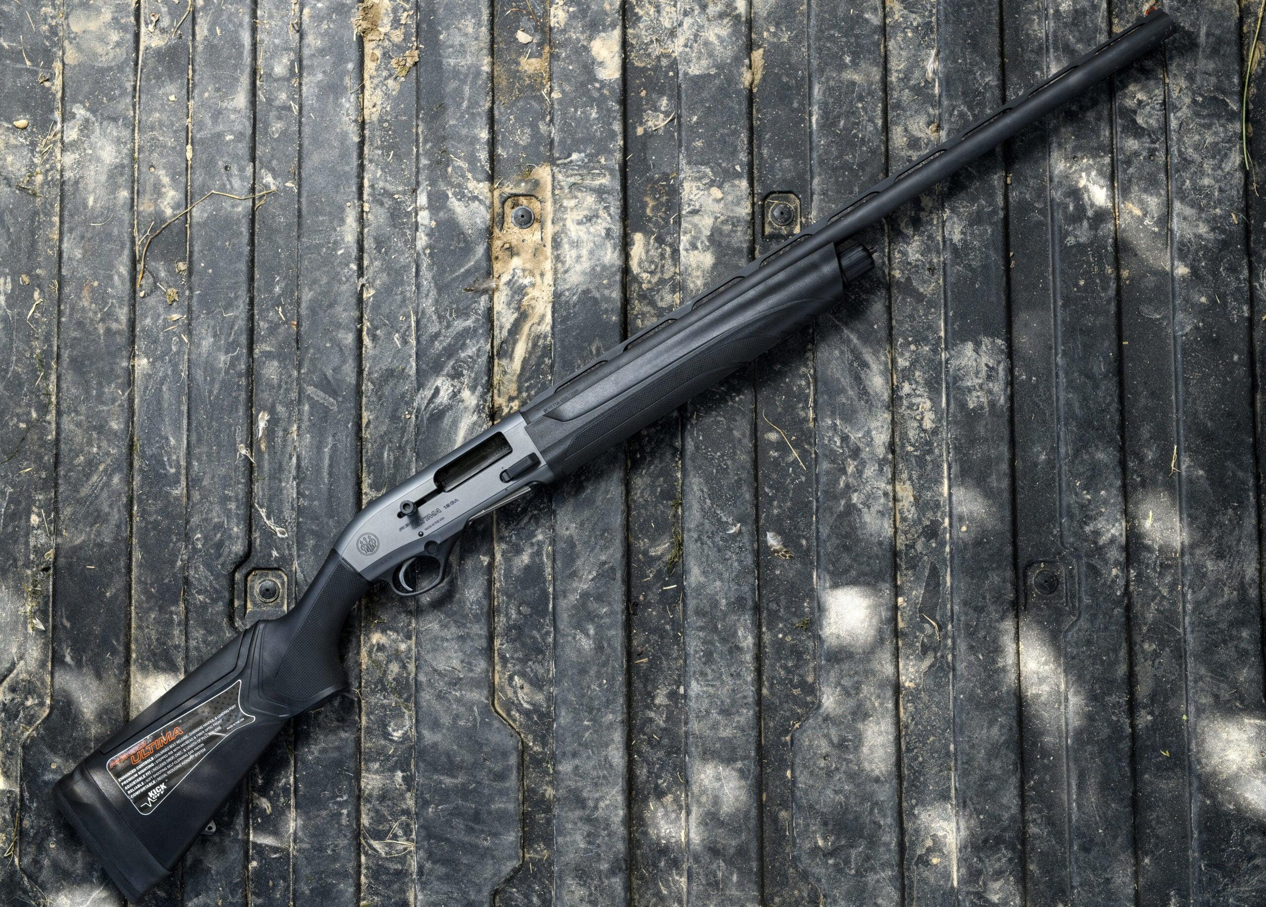 Beretta A300 is the best duck hunting shotgun.