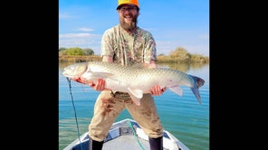 Giant Idaho Grass Carp Caught On Bass Lure Could Be a World Record