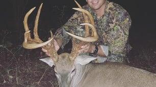 Key Smith's Mississippi 10-point buck.