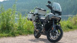 Harley's newest adventure bike.